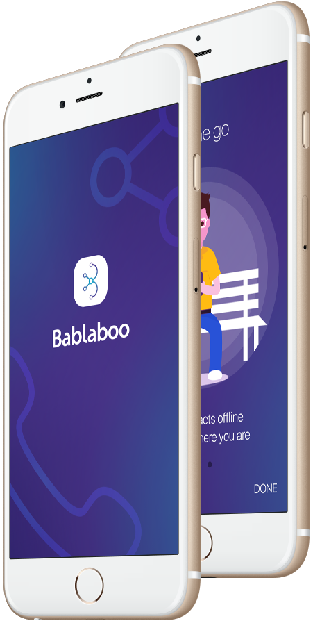 Built social networking app Bablaboo,where data can be shared on a cloud based platform for social business purpose.